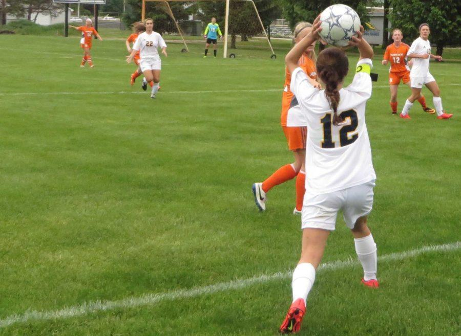 Women's Varsity Soccer: Districts Round 1