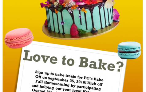 The first annual Bake-Off to take place on Sunday