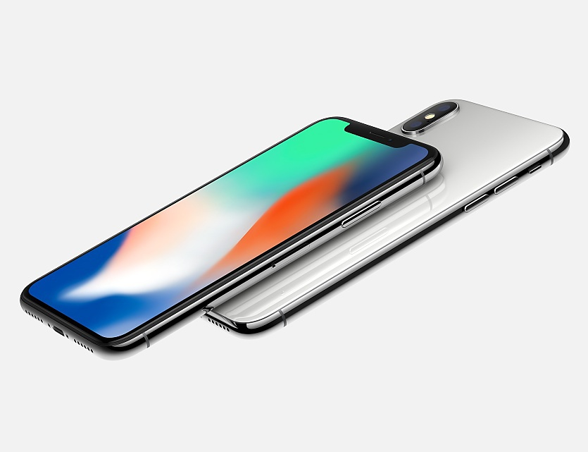 The+new+iPhone+X+comes+with+an+all-glass+housing+and+is+both+dust+and+water-resistant.