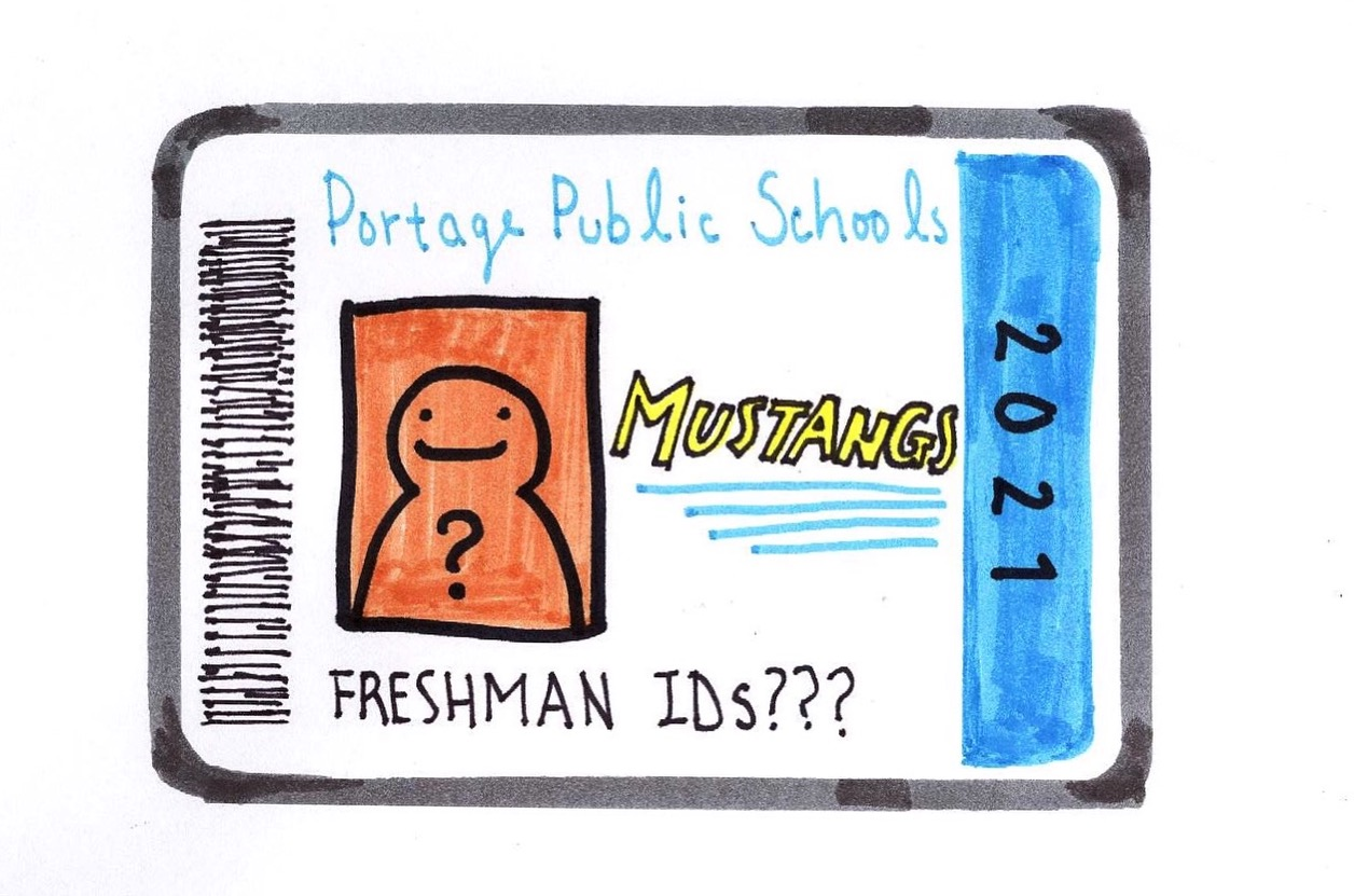 The freshman class has not been in possession of a proper school ID for the majority of the school year so far.