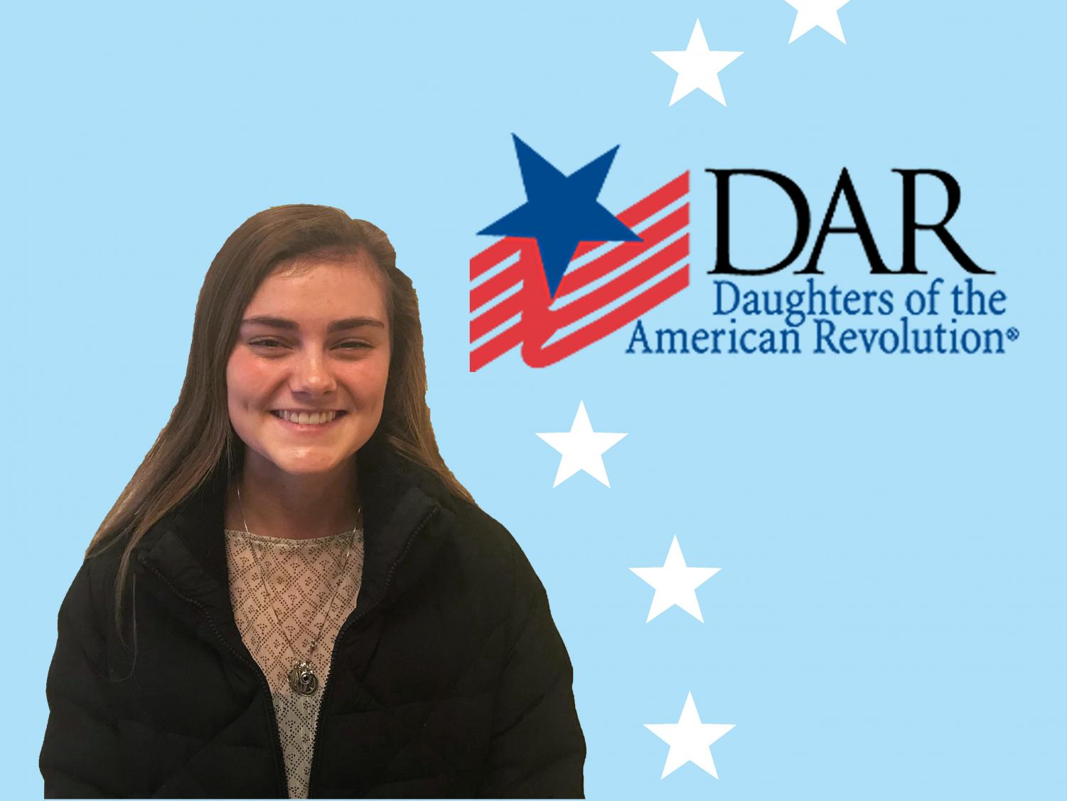PC staff members voted to have senior Ella Foley represent the school to apply for this year's DAR Good Citizen Scholarship.