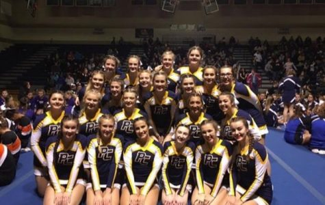 Cheer Team Becomes Grand Champs at CCCAM Scholarship Invitational