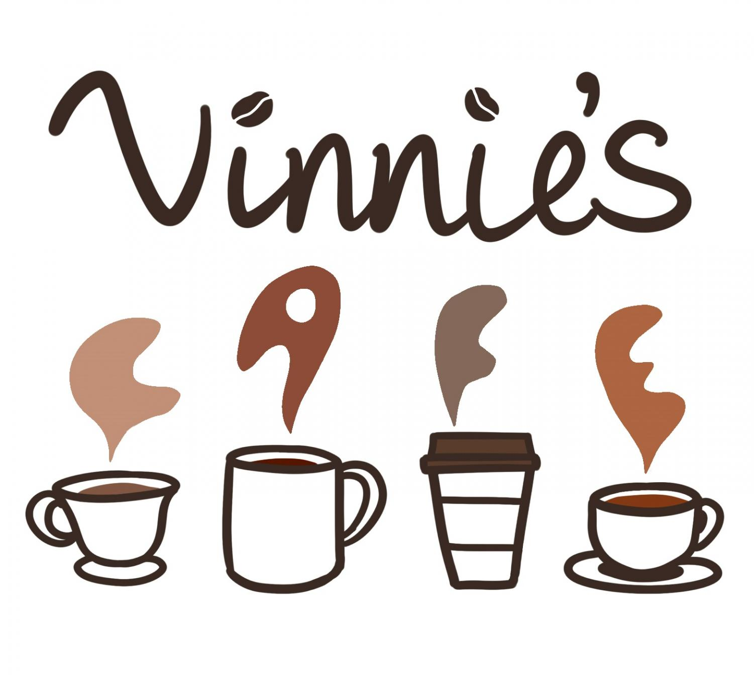 This logo was chosen by student vote out of a select variety of design contest submissions. It will be appearing around the school to represent the cafe shortly.