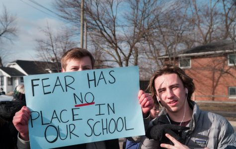 """PHOTO GALLERY: Mustangs show unity with victims of school shootings and """"Walk Out"""" to make a positive change"""