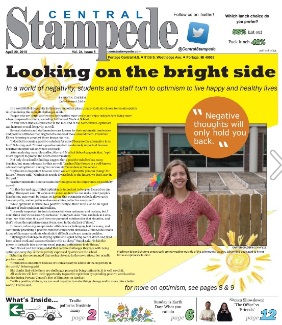 Central Stampede Vol. 24: Issue 5