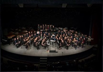 The PC Symphonic Band will be featured tonight at the 50th Anniversary performance of the Wind & Percussion Music Spring Conference