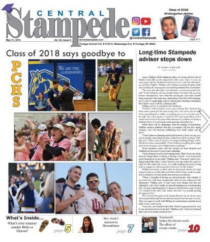 Central Stampede Vol. 24: Issue 6, Senior Issue