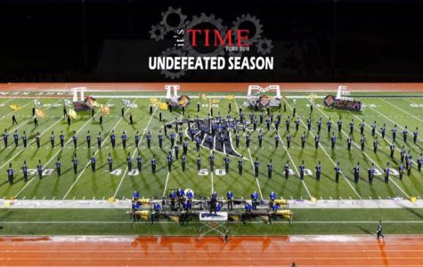 "The ""scary good"" Portage Central Marching Band remains undefeated once again"