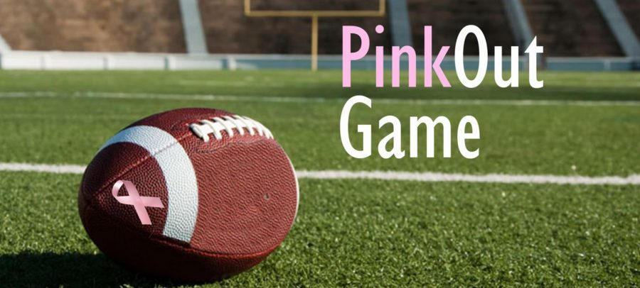 """Support the fight against breast cancer at the """"Pink Out"""" game on Friday night"""