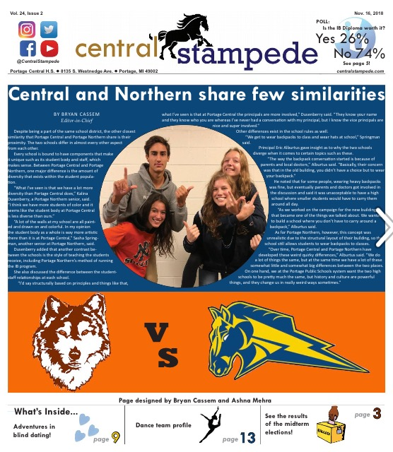 Central Stampede Vol. 25: Issue 2