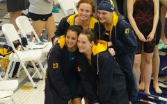 Women's Varsity swim relay teams break several SMAC records, creating a new legacy within the conference