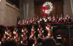 The choir will be spreading holiday cheer at their annual holiday concert next Tuesday