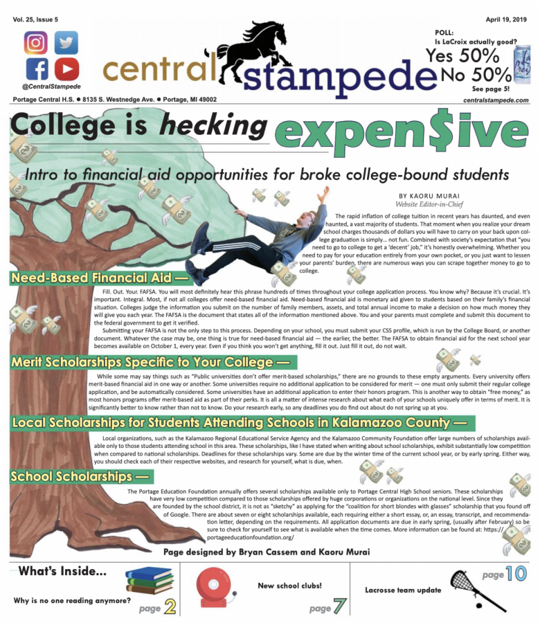 Central Stampede Vol. 25: Issue 5