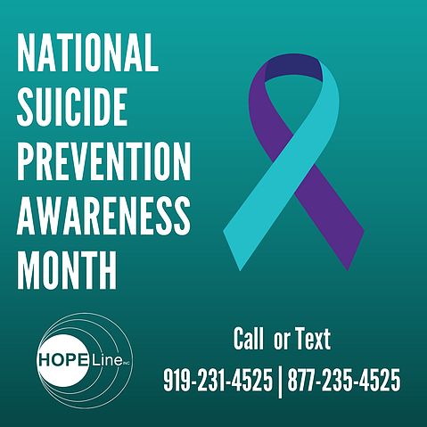 The importance of Suicide Prevention Month