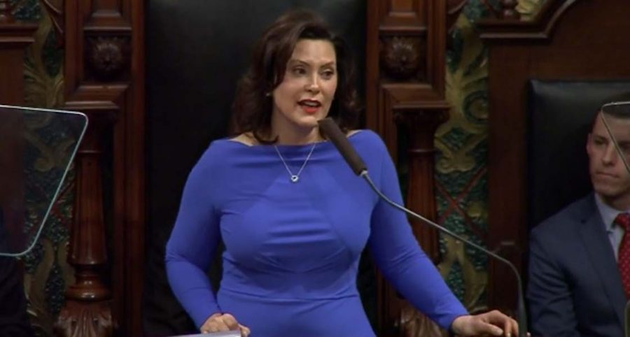 Governor Gretchen Whitmer covers future goals for 2020 in the state of the state address
