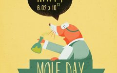 Chemistry students celebrate the importance of Mole Day