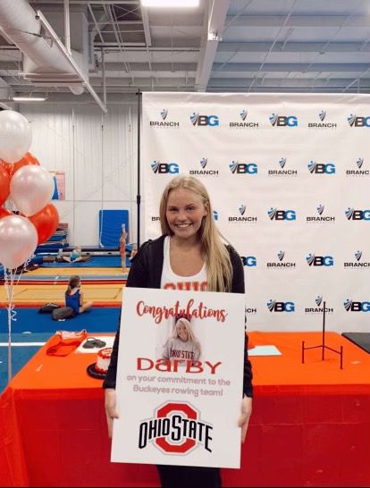 Darby Lindstrom commits to Ohio State for rowing